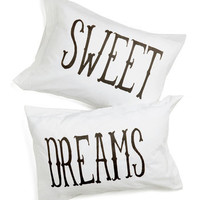 Rockabye Lady Pillowcase Set | Mod Retro Vintage Decor Accessories | ModCloth.com
