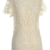 Don't Stop Beweaving Top in Ivory - New Arrivals