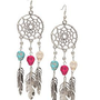 Dream Catcher Skulls Earrings - 316322