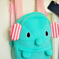 amazinglife — Mint Elephant Backpack
