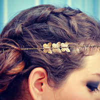 butterfly chain head piece, chain headband, butterfly headband, metal headband, unique headband