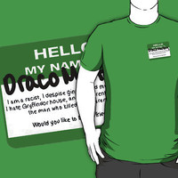Hello, My Name is Draco Malfoy by TheRouge