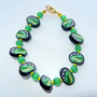 Polymer Clay Beaded Bracelet