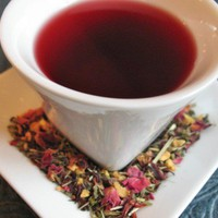 Hibiscus tea, herbal tissane Organic Renew & Refresh 3oz. Stevia sweet | GraciousElements - Edibles on ArtFire