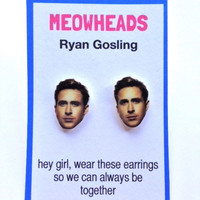 Ryan Gosling earrings