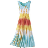 Sherbet Punch Dress                                - New Age, Spiritual Gifts, Yoga, Wicca, Gothic, Reiki, Celtic, Crystal, Tarot at Pyramid Collection