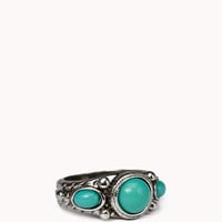 Faux Stone Ring | FOREVER 21 - 1053795869
