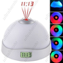 LED Color-Changing Magic Projection Clock Projection Light from UltraBarato Gadgets
