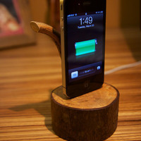 Hand Made Iphone Dock