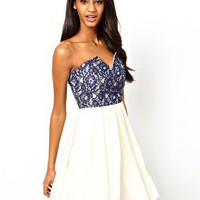 TFNC Prom Dress with Lace Bodice at asos.com