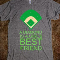 A DIAMOND IS A GIRL'S BEST FRIEND - justforlindz - Skreened T-shirts, Organic Shirts, Hoodies, Kids Tees, Baby One-Pieces and Tote Bags