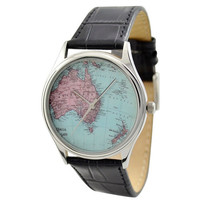 Vintage Map Watch (Australia and New Zealand)