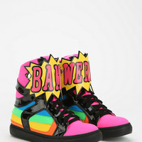 Jeffrey Campbell Words High-Top Flatform-Sneaker