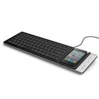 Omnio WOW-KEYS Full-sized, QWERTY PC or MAC Keyboard for iPhone