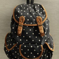 millie polka dot backpack at ShopRuche.com