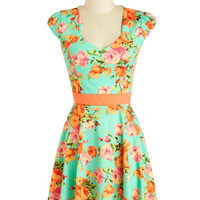127 Flowers Dress | Mod Retro Vintage Dresses | ModCloth.com