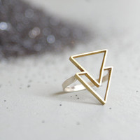 the Double Triangle ring