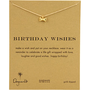 Dogeared Jewels New Reminder Birthday Wishes Necklace