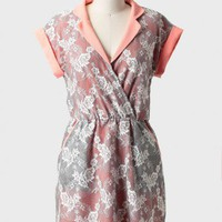 suzanne collared lace dress at ShopRuche.com