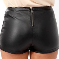 Rib Panel Shorts | FOREVER 21 - 2019572083