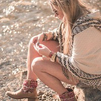 Hooded Poncho style pic on Free People
