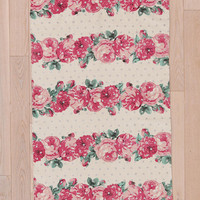Plum &amp; Bow Blossom-Stripe Rug