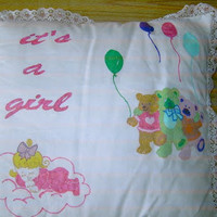 NEW HAND PAINTED PILLOWS BY NANNY CHERYL ORIGINAL'S - Nanny Cheryl