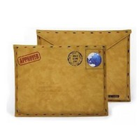 Vintage Leather Envelope Case for iPad 2/New iPad