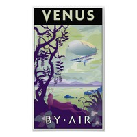 Venus by Air Poster