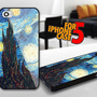 Van Gogh Starry Nights for iPhone 5 Black case