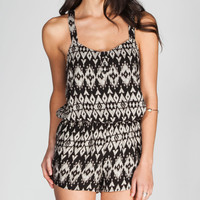 FULL TILT Ethnic Print Romper
