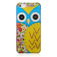 Floral Owl Phone Case For iPhone 5