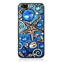 Cool iPhone 5 Case With Embossment - The Star Of The Ocean