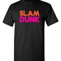 Freshletes — Slam Dunk Tee - Black