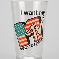 MTV Pint Glass