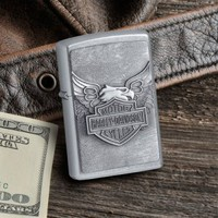 Personalized Zippo Harley-Davidson® Iron Eagle Lighter