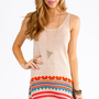 Mink Pink Southwest Tank Dress $62