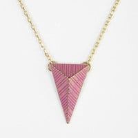 Urban Outfitters - Painted Geo Necklace