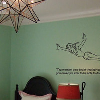 Peter pan, Nursery, Captain hook, Wendy, John, Michael, lost boys, room decor, birthday gift,  by OTRengraving on etsy