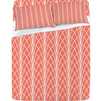 DENY Designs Home Accessories | Heather Dutton Arcada Persimmon Sheet Set