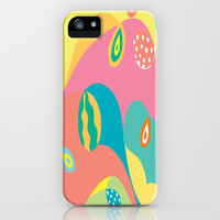 Twists & Turns iPhone Case by Rosie Brown