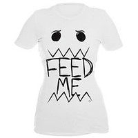 Goodie Two Sleeves Feed Me Girls T-Shirt - 916001