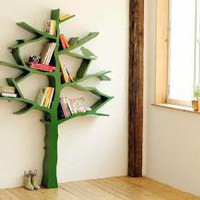 Green Tree Bookcase