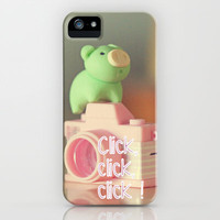 Click,click, click ! iPhone & iPod Case by Irène Sneddon