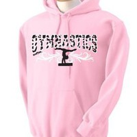 Amazon.com: Zebra Hoodie Gymnastics: Clothing