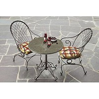 Country Living Cherry Valley Granite Bistro Table