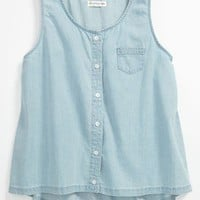 Tucker + Tate 'Jennifer' Denim Tank Top (Big Girls) | Nordstrom