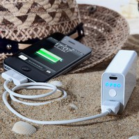 iPowerJuice Classcial Series 5200 Mobile Portable Charger Station external back up battery for iPad mini/iPhone 5
