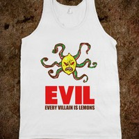 Every Villain Is Lemons - Pop Couture - Skreened T-shirts, Organic Shirts, Hoodies, Kids Tees, Baby One-Pieces and Tote Bags