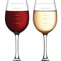 FRED The Sauced Measuring Wine Glass : Karmaloop.com - Global Concrete Culture